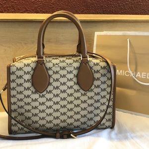 $328 Michael Kors Connie Handbag MK Purse Bag